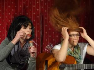 Paula McCartney & Johanna Lennon oder so...