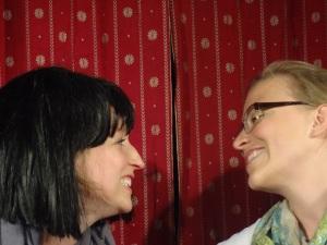 Loretta McCartney and Anna Lennon